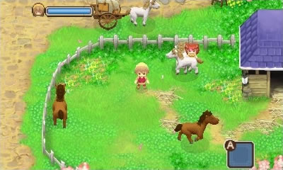 Harvest Moon The Tale of Two Towns Rom Screenshot