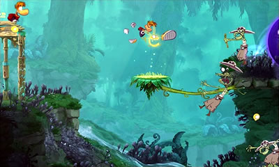 Rayman Origins Rom Screenshot