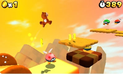 Super Mario 3D Land Rom Screenshot